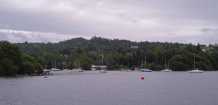 Windermere from ferry to Far Sawrey