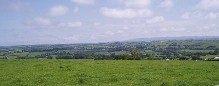 View to Launceston