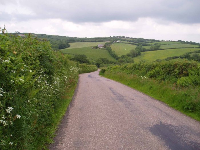 Devon's rolling country lanes