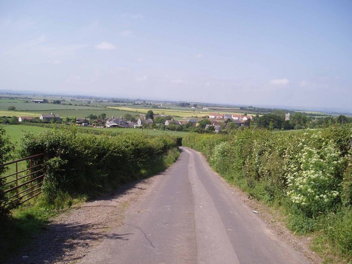 View South from Greinton to Shapwick