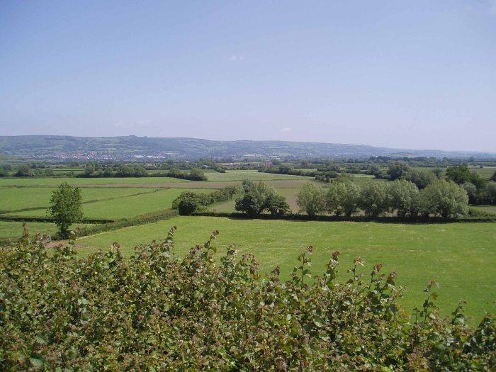 Mendip Hills from B3151