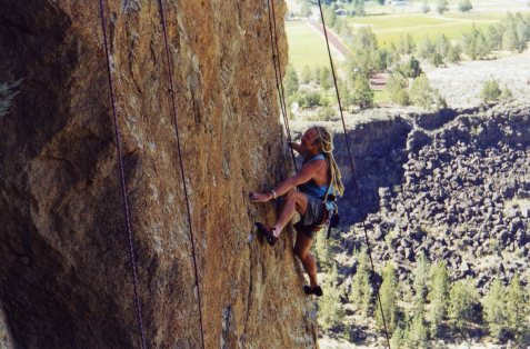 19 Sep 1999 Smith Rock - Butterknife Arete 1