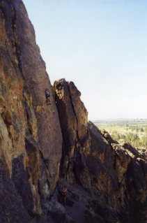 19 Sep 1999 Smith Rock - Monty, Sunset Slab 2