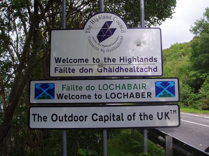 The Highlands!