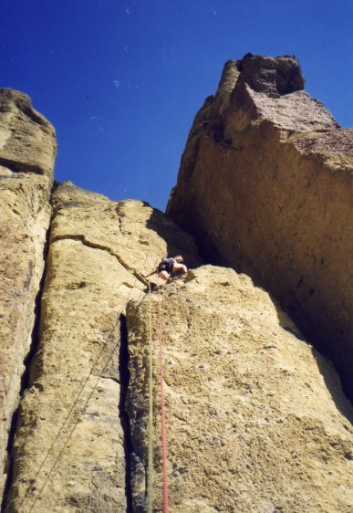 21 Sep 1999 Smith Rock - Georgie Ancyclostoma 2065