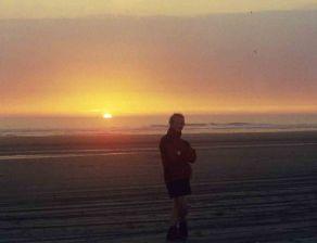 27 Aug 1999 Sunset Grayland Beach State Park