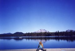 29 Sep 1999 5th Sister and Broken Top, Lava Lake