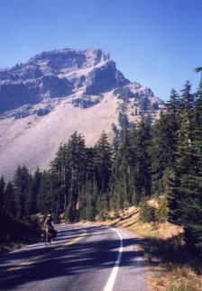 4 Oct 1999 Applegate Peak Uphill, Crater Lake