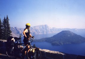 4 Oct 1999 Crater Lake, Wizard Island