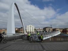 The Millenium Bridge Newcastle Upon Tyne