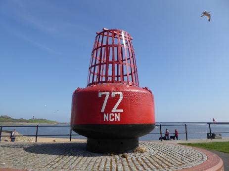 Start of NCN 72 Tynemouth
