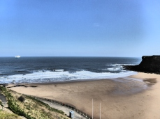 Looking back at Tynemouth
