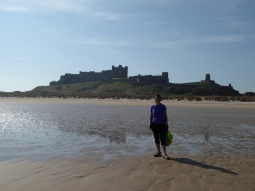 June at Bamburgh Castle
