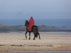 Filming of Beowulf at Bamburgh Castlet
