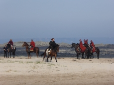 Filming of Beowulf at Bamburgh Castle