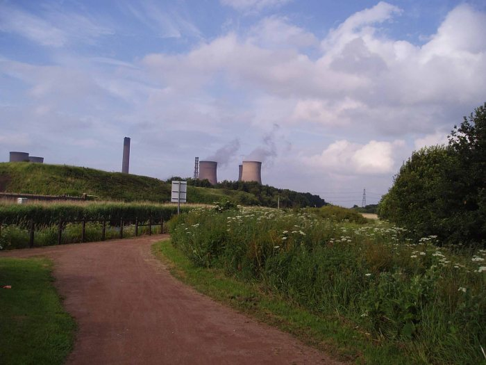 The Trans Pennine Trail Fiddler's Ferry